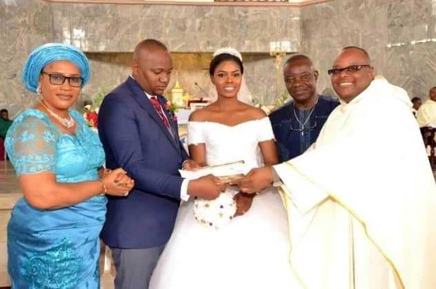 Nigerian man marries his school daughter from way back