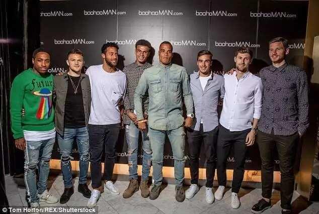 Stars on parade as Tottenham's Dele Alli launches boohooMAN fashion range