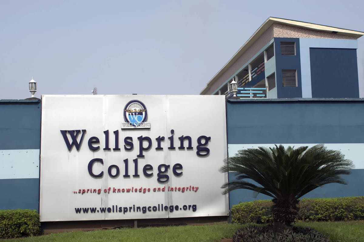 Wellspring University school fees