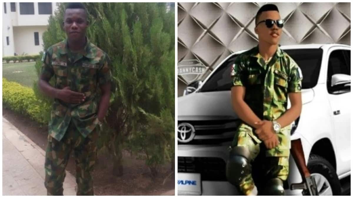 Soldier celebrates birthday in style, thanks God for the days and nights he survived