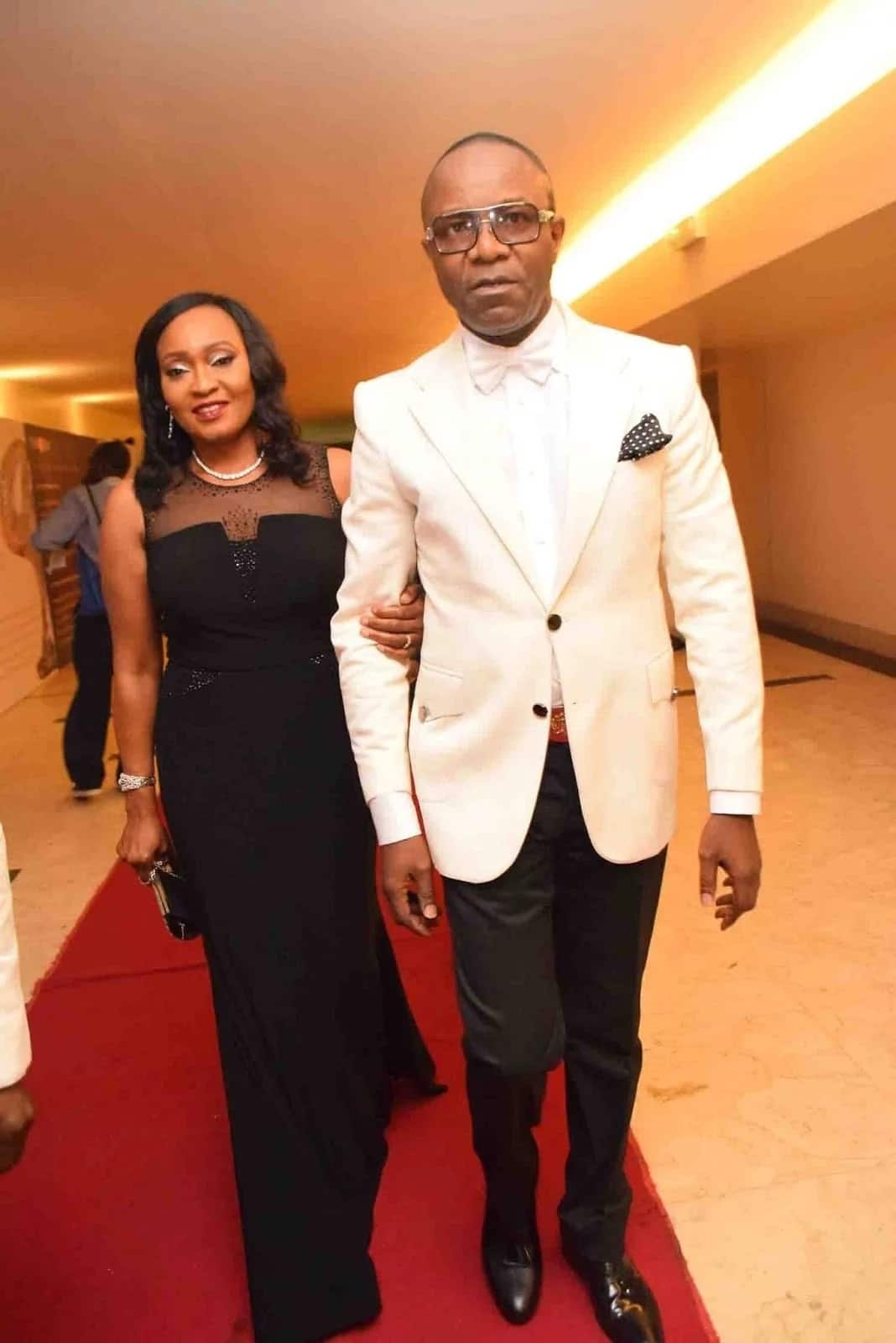 Ibe Kachikwu's second wife