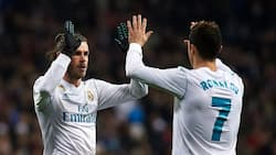 Real Madrid celebrates Bale's bicycle kick against Liverpol for goal of the season but ignores Ronaldo