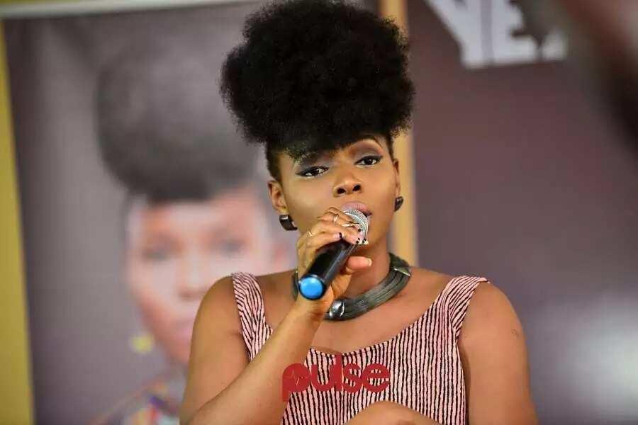 Yemi Alade singing
