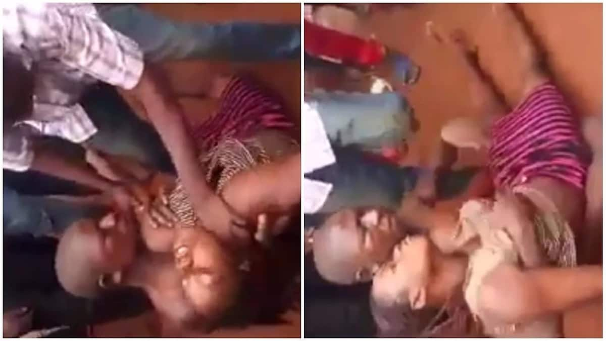 Unconscious men stripped, gangbanged by shemales