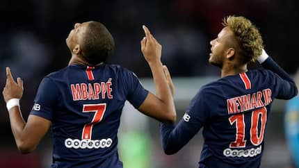 Neymar reacts to Mbappe being dropped against Marseille
