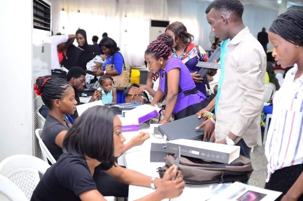 N-Power beneficiaries receive devices for teaching, health and agricultural programmes