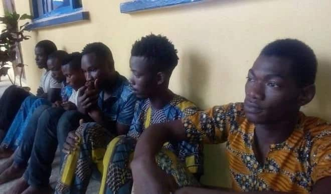 Ex-police spokesman's son paraded alongside other cultists in Ilorin