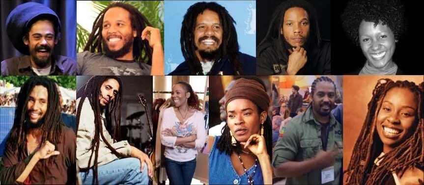 Bob Marley's 11 children