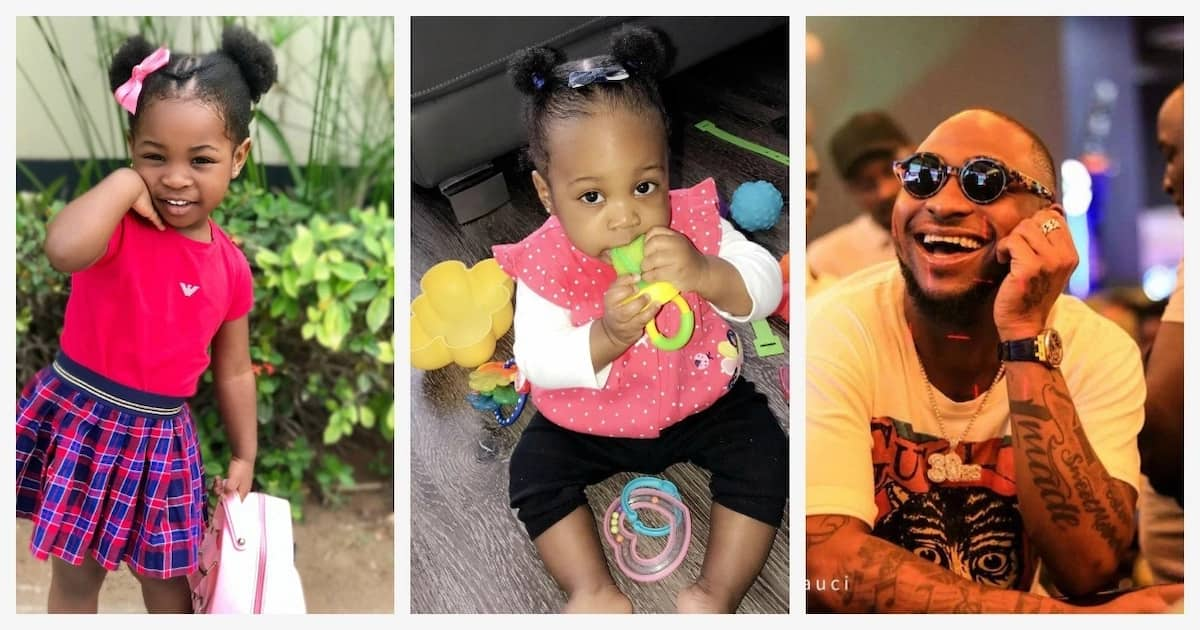 Davido children: How many kids does he have?