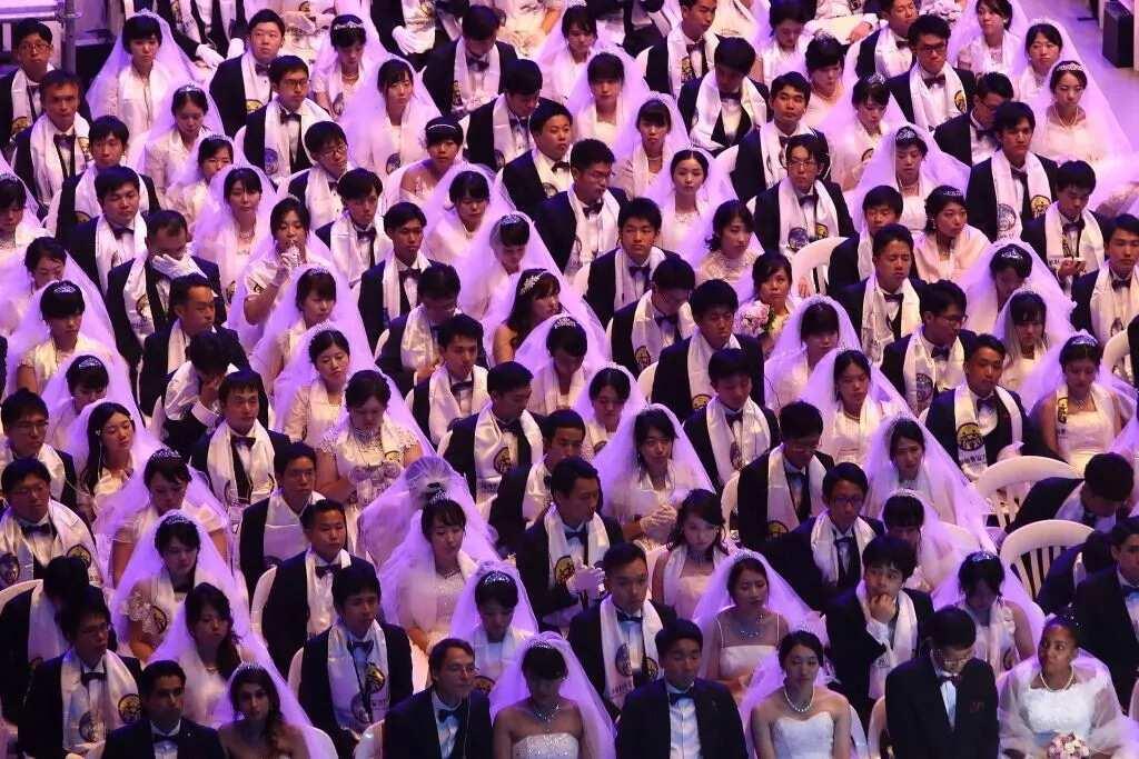 South Korean church still maintains mass wedding practice, years after its establishment