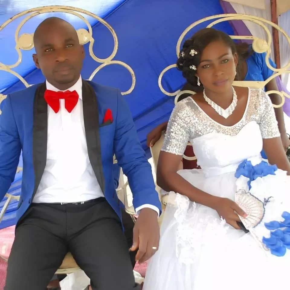 Pretty young lady who married months ago survives gas explosion (photos)
