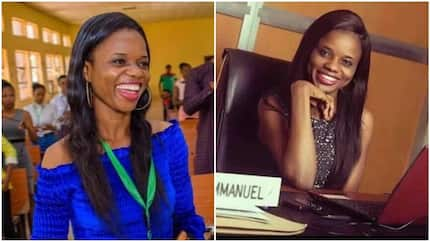 Pretty lady wins N45m scholarship to study for her PhD in UK, she is the youngest lecturer at UNIZIK (photos)