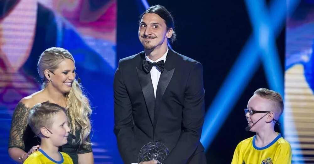 Zlatan Ibrahimović with wife story