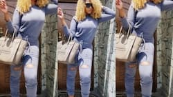 Rukky Sanda steps out in Gucci ensemble worth millions (photos)