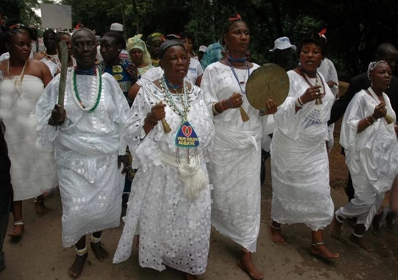 Yoruba religion Ifa worshippers