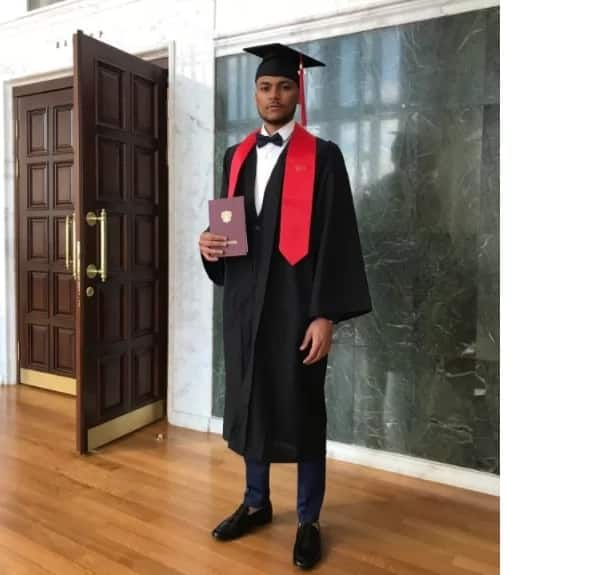 Nigerian student graduates as the best student from Russian medical school, with a perfect CGPA