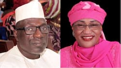 Buhari's minister visits Makarfi in PDP headquarters, talks about 2019 elections