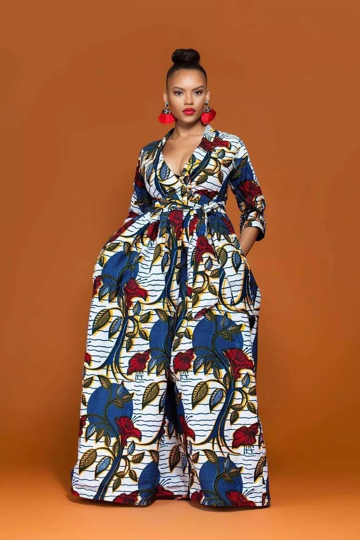 Ankara dress for pregnant ladies -2