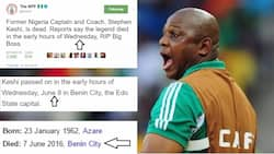 One year after: Confusion continues to trail actual date Stephen Keshi passed away
