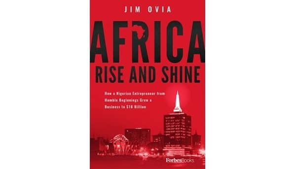 Africa Rise and Shine by Jim Ovia now available on Jumia and Konga