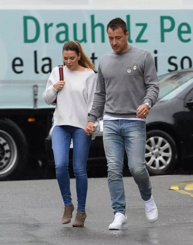 John Terry discusses his Aston Villa future after taking wife out