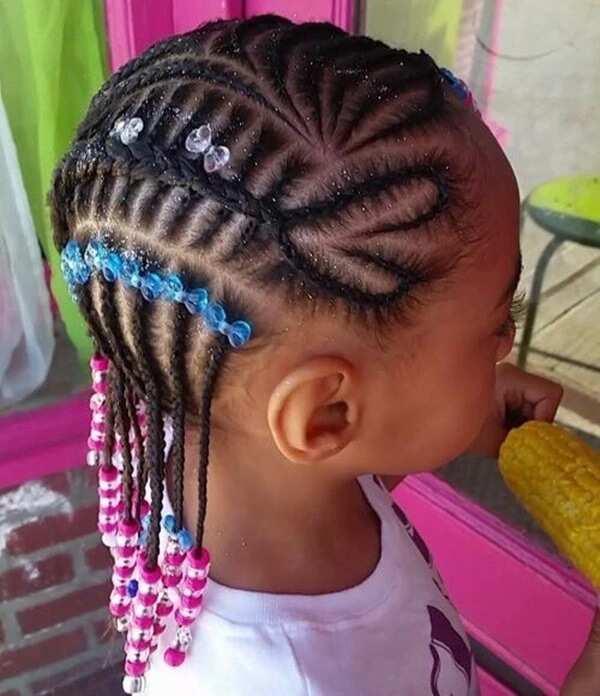 Heart-shaped braids