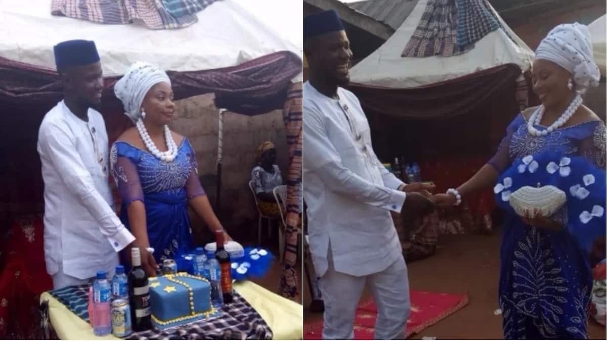 Nigerian lady Cynthiabrown Ajomiwe shares beautiful photos from her traditional wedding