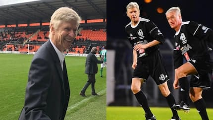 68-year-old Arsene Wenger shows great skills as he returns to football (photos)