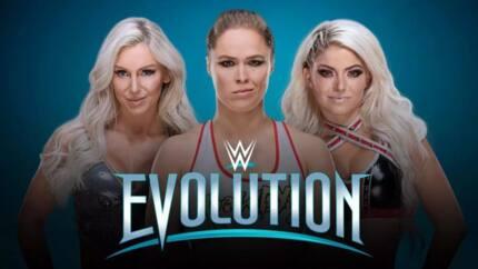 Impressive WWE Evolution results in 2018