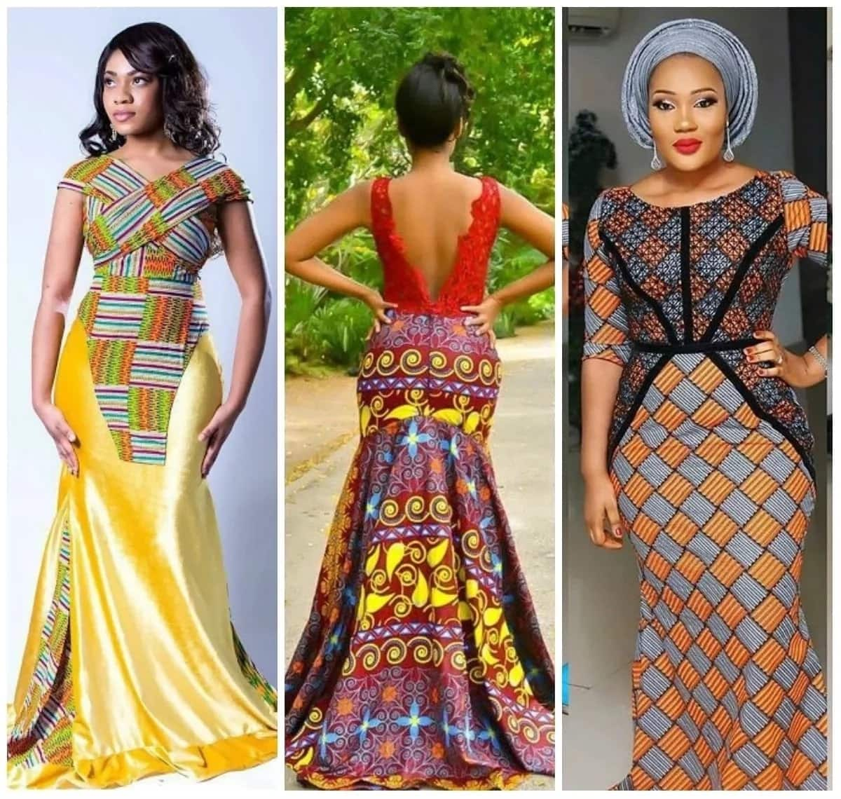 Ankara Mixed With Lace Dresses 2017 2018 Legitng