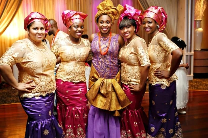 asoebi styles for wedding