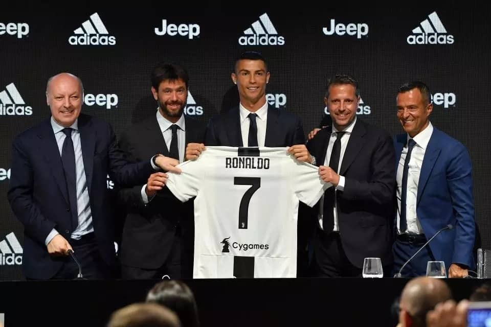 Ronaldo opens up on the reason he joined Juventus from Real Madrid