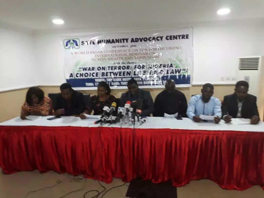 Speaker Dogara, Ben Bruce, others nominated brainstorm on terrorism, human rights in Nigeria