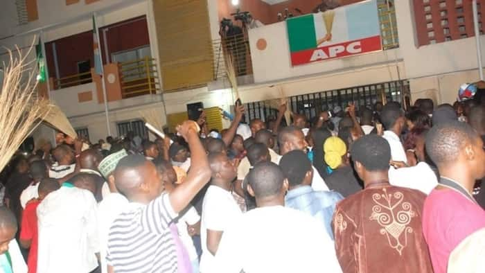 APC takes over PDP office in Enugu
