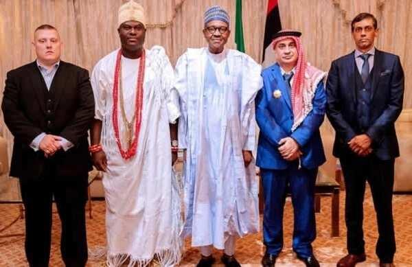 Buhari ya karbi bakuncin babban sarki a kabilar Yoruba, duba hotuna