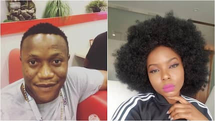 Change your bleaching cream! Yemi Alade tells nosy fan who said she was getting old