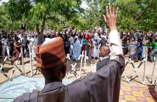 Da duminsa: Bayan Sallar Juma'a a Katsina, Buhari ya isa gida Daura