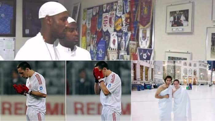 6 footballers who dumped Christianity for Islam (photos)