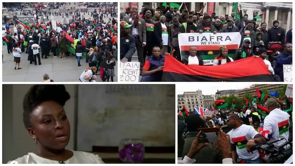 BREAKING: Chimamanda Ngozi Adichie, 11 professors set to storm Washington DC for Biafra conference
