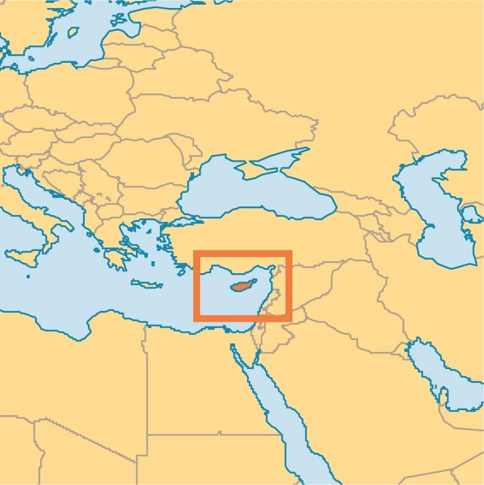Where is Cyprus located