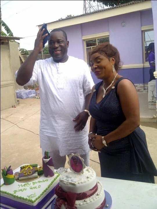 15 Popular Yoruba actors' lovely wives (photos)