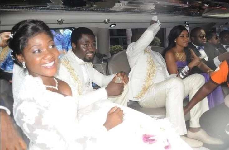 X throwback photos from Nigerian actress Mercy Johnson wedding