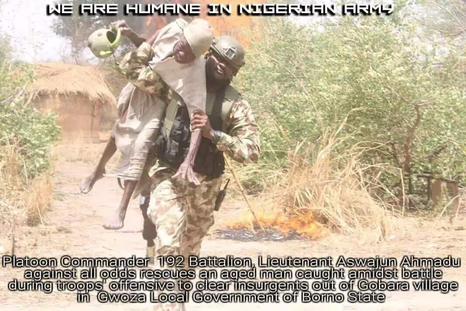 Dakarun sojin Najeriya sun kashe mayakan Boko Haram biyu yayin kubutar da wani tsoho
