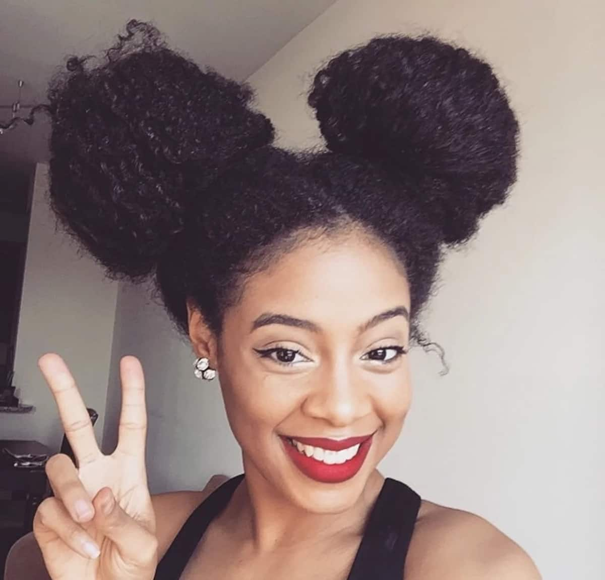 Black Natural Hairstyles For Medium Length Hair Legit Ng