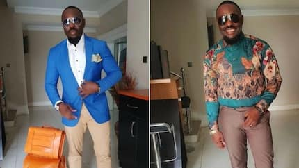 You look like a mascot - Jim Iyke says to troll who mocked him over recent airport controversy