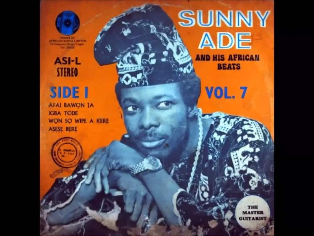 King Sunny Ade young