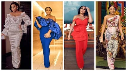Style focus: 10 stunning looks from Rita Dominic that prove she's a fashion icon (photos)