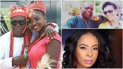 TBoss' father Engr. Idowu Philips ties the knot with younger wife in Edo state (photos)