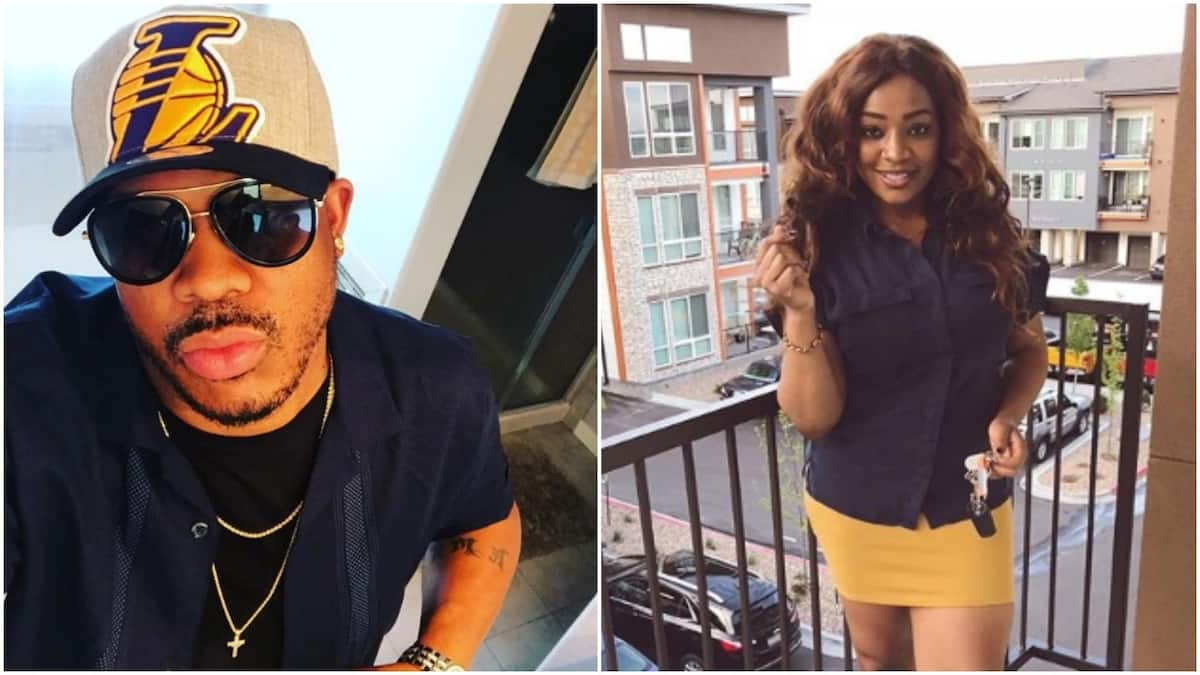 I saved you from serving 4 years jail term - Actress Juliet Mgborukwe fires back at ex-hubby (videos)