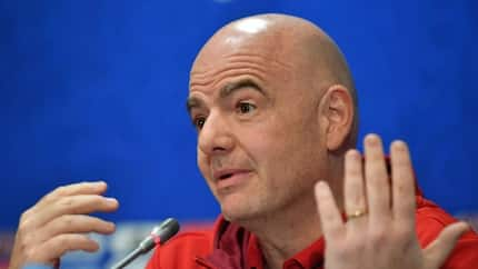 FIFA president Infantino finally speaks on NFF saga, says Nigeria risk being banned from all football activities